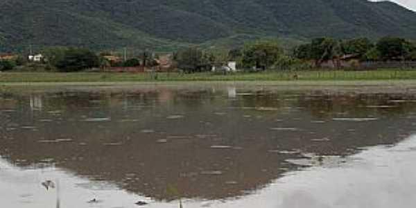 Catolé-CE-O rio e o distrito-Foto:Facebook