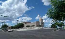 Catunda - Praça da Paróquia de Catunda, Por Fátima Rodrigues