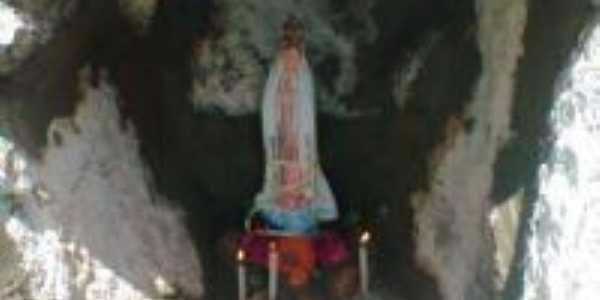 Gruta para oração e reflexão no pico do oeste (interior da cidade), Por Valdenir