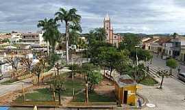 Cedro - Cedro-CE-Vista aérea da Praça da Matriz-Foto:Gilson_Martins