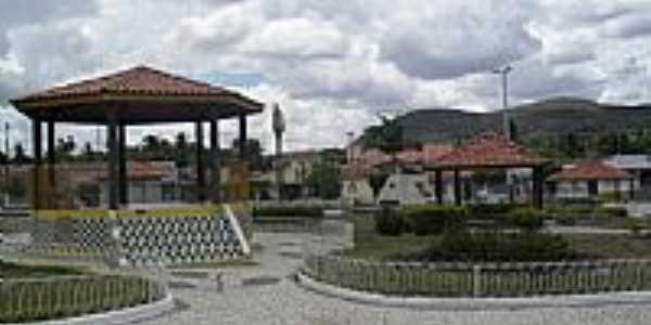 Praça Noé Leite em Olho D´Água do Casado-Foto:Sergio Falcetti