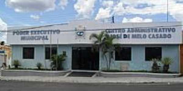 Prefeitura Municipal de Olho D´Água do Casado-Foto:Sergio Falcetti