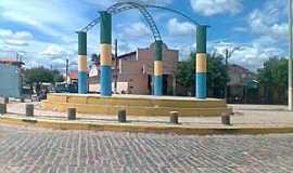 Choró - Choró-CE-Praça Central-Foto:gilmar frança