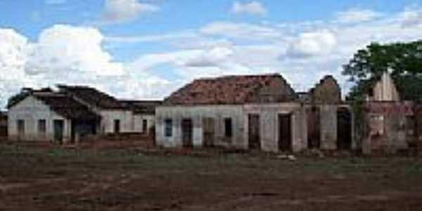 Ruinas de casas em Cococi-Foto:Thiago dos Passos