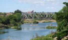 Crate�s - Ponte Metal�ca sobre o Rio Poty, Por Rugg�ry