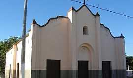 Cruxati - Cruxati-CE-Igreja Matriz-Foto:adamscastro.