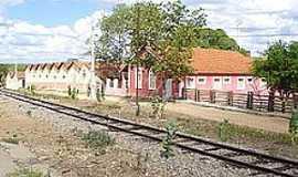 Daniel de Queirós - Daniel de Queiroz-CE-Antiga Estação Ferroviária-Foto:Wikipédia