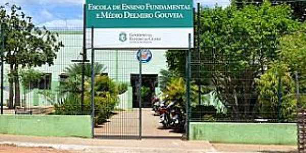 Delmiro Gouveia-CE-Escola de Ensino Fundamental-Foto:professorfranciscomello.