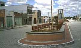 Ouro Branco - Imagem de Padre Cícero na Avenida em Ouro Branco-Foto:Gilberto Carvalho Ju…
