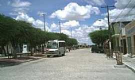 Ouro Branco - Rua e praça em Ouro Branco-Foto:Gilberto Carvalho Ju…