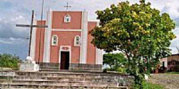 Igreja Católica em Dom Mauricio-Foto:Krewinkel-Terto de A…