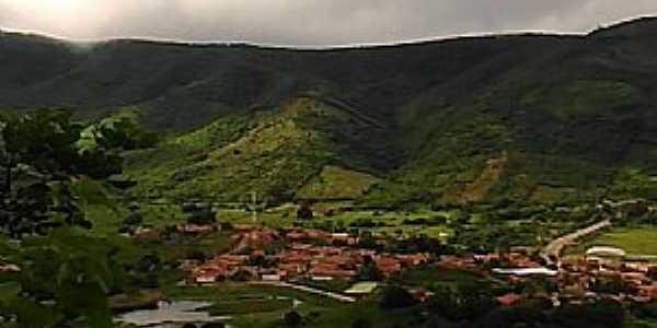 Dom Quintino-CE-Vista do Distrito à partir do Cruzeiro da Serra-Foto:Facebook