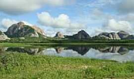 Encantado - Visão da barragem do Açude de Encantado-Foto: Fábio Eugênio