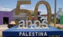 Palestina - homenagem aos 50 anos de palestina, Por SANDOVAL DE FARIAS