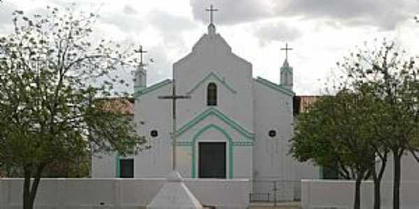 Esperança-CE-Igreja Católica do Distrito-Foto:Antônio Carlos Alves