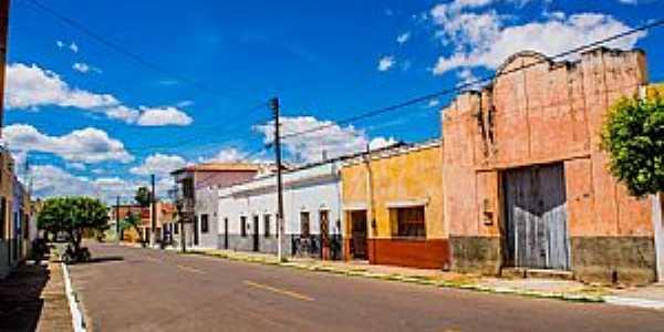 Granja-CE-Rua no centro-Foto:ARAGÃO