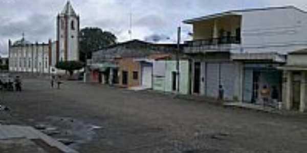 Rua Pedro Pereira em Pariconha-AL-Foto:Pariconha