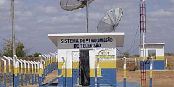 Hidrolândia-CE-Sistema Transmissão TV-Foto:Marcello Bezerra