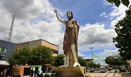 Horizonte - Horizonte-CE-Imagem de São João Batista na entrada da cidade-Foto:MACÍLIO GOMES