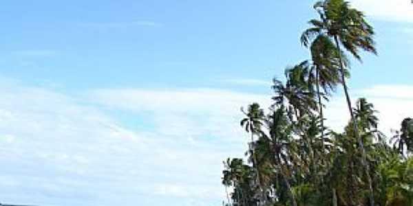 Paripueira-AL-Linda imagem da praia-Foto:Henrique de BORBA