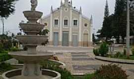 Ibiapina - Praça e Igreja no centro de Ibiapina-Foto:THIAGO13SS
