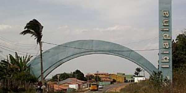 Ibiapina - CE - Portal de Entrada da cidade  por Ivo Dias