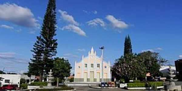 Igreja Matriz de Ibiapina - CE por Othon Farias