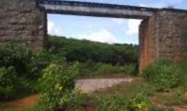 Ibicuã - Ponte do trem no sítio timbaúba, Por Gleyce Vieira