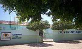 Ibicuã - Escola Municipal Mestre Júlio em Ibicuã-Foto:EDNAMARTINIANO