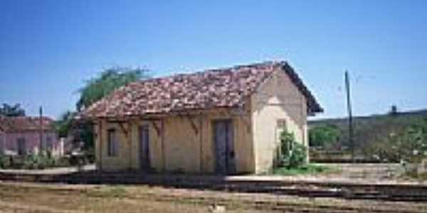 Estação Ferroviária de Ibicuã-Foto:EDNAMARTINIANO