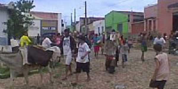 Festa dos Caretas em Ibicuã-Foto:EDNAMARTINIANO2