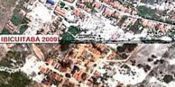 Vista aérea da cidade de Ibicuitaba-Foto:acidadeicapui.