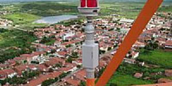 Vista aérea de Ibicuitinga-CE-Foto:Claudio Monteiro-postada porleandhm