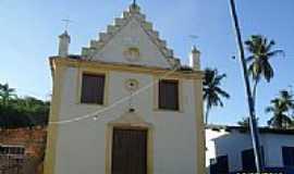 Passo de Camaragibe - Igreja de São José no povoado de Barra de Camaragibe em Passo de Camaragibe-Foto:Sergio Falcetti