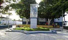 Passo de Camaragibe - Praça Padre Cícero em Passo de Camaragibe-Foto:Sergio Falcetti
