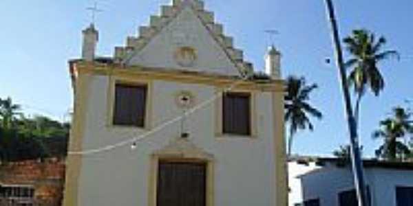 Igreja de São José no povoado de Barra de Camaragibe em Passo de Camaragibe-Foto:Sergio Falcetti