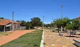 Icapuí - Icapuí-CE-Pátio da Igreja no Distrito de Melancias-Foto:João Henrique Rosa