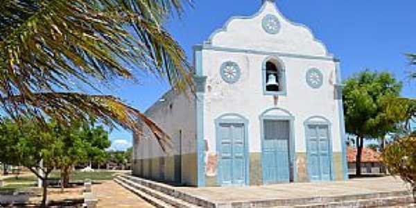 Icapuí-CE-Igreja no Distrito de Melancias-Foto:João Henrique Rosa