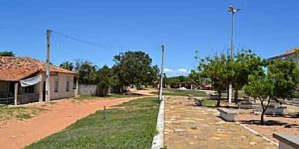 Icapuí-CE-Pátio da Igreja no Distrito de Melancias-Foto:João Henrique Rosa