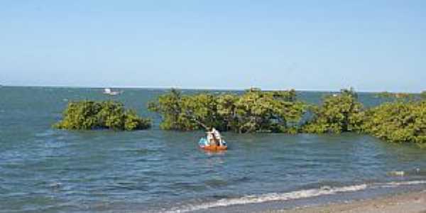 Icapuí-CE-Pequenas Ilhas na praia-Foto:nimra mhad