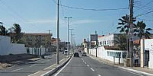 Icaraí-CE-Rodovia CE-090-Entrada da cidade-Foto:andre pimentel