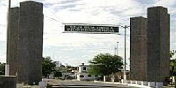 Entrada da Cidade, por Pacelli.