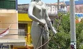 Ipu - Est�tua de Iracema-Foto:Mac�lio Gomes