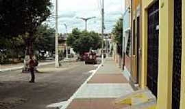 Ipu - Rua central de Ipu-Foto:Zemakila