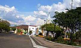 Ipueiras - Praça da Matriz em Ipueiras-CE-Foto:PAPAGAIO