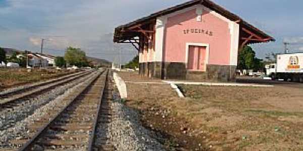 Ipueiras-CE-Estação Ferroviária-Foto:Claudio Oliveira Lima