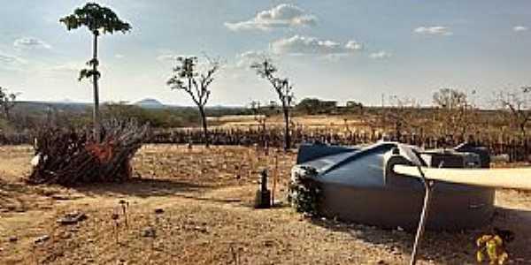 Ipueiras dos Gomes-CE-Armazenamento de água-Foto:Johnson Vargas