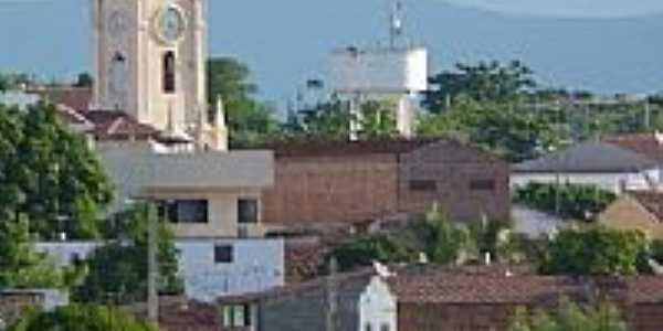 Vista da torre da Igreja em Iracema-Foto:klebes