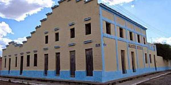 Irajá-CE-Palacete Oiticica,um dos imóveis mais antigos do Distrito-Foto:hidro24horas.blogspot
