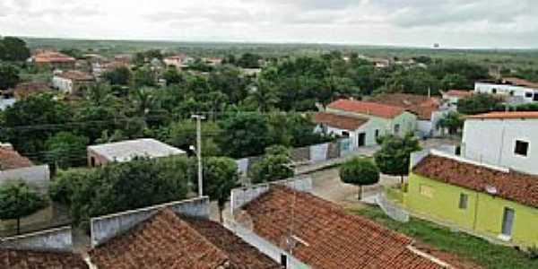 Irajá-CE-Vista parcial do Distrito-Foto:J. P. Mesquita
